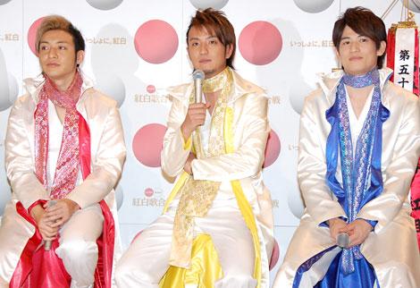 『第59回NHK紅白歌合戦』に羞恥心 with Paboとして出場する羞恥心の3人