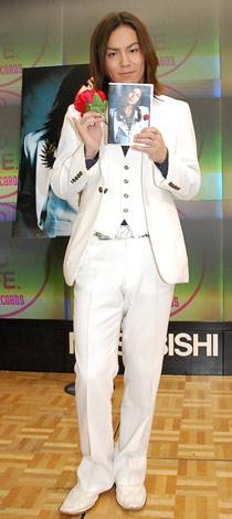 DVD『Ciel』の発売記念イベントを行った狩野英孝