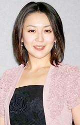 NHK時代劇スペシャル「花の誇り」の会見に出席した酒井美紀