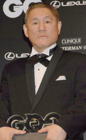 『GQ Men of the Year 2008』を受賞した北野武