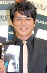 著書「高橋克典流↑肉体改造〜タダノ体のつくり方」出版記念握手会を開催した高橋克典