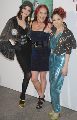 左からSHIHO、パトリシア・フィールド、AI