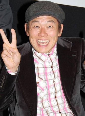 ジー・モードの新サービス発表会に出席したレッド吉田