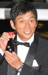 男性部門1位の明石家さんま[08年8月撮影]