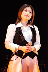 夏川りみ【2007年9月撮影】