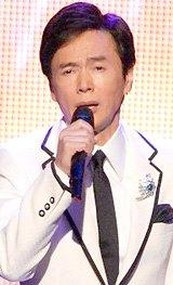 『第50回日本レコード大賞』にゲストとして登場した森進一