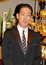 映画『禅 ZEN』のイベントに登場した中村勘太郎