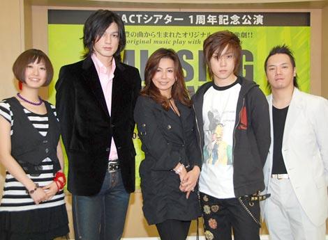 青春群像劇『MISSING BOYs〜僕が僕であるために〜』の会見の様子