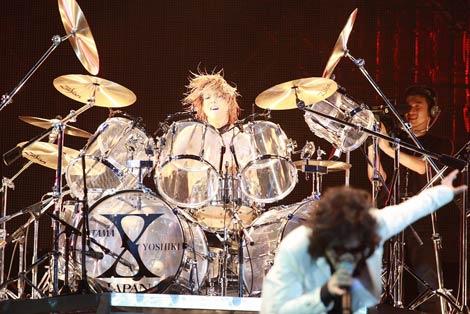 「YOSHIKI ドラム」の画像検索結果