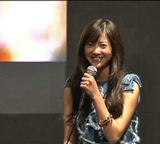 トークイベントに登場した吉高由里子