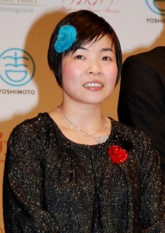『よしもとプリンスシアター』の制作発表会見弐出席した山田花子