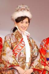 東京都出身17歳の宮田麻里乃さん、ミス日本GPに輝いた瞬間の表情