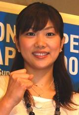 バドミントン・潮田玲子選手〔07年9月撮影〕