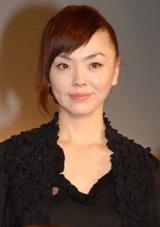 音楽劇『三文オペラ』製作発表会見に登場した松田美由紀