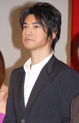 映画『レッドクリフ Part II』の完成披露イベントに出席した金城武