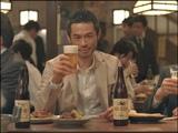 初めてのビールCMに出演したイチロー
