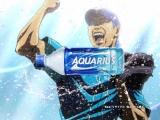 『アクエリアス』新CMで自身初のアニメーションとなった松坂大輔投手