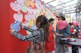 『コカ・コーラ オープン ハピネス バレンタインデー イベント』の模様