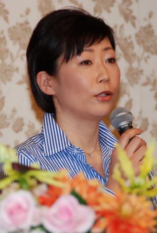 峯村リエ=MBS・TBS系昼ドラ『おちゃべり』の製作発表会見