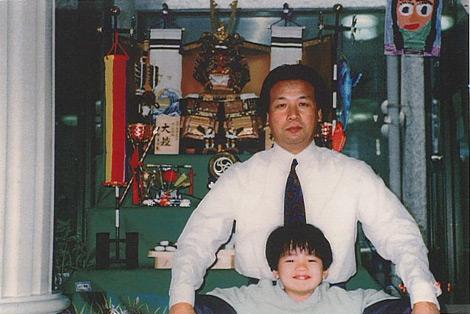 前川親子(紘毅・当時5歳)