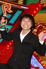 『R-1ぐらんぷり2009』で優勝で大喜びの中山功太