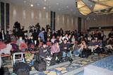 会場にはたくさんの報道陣が駆けつけた