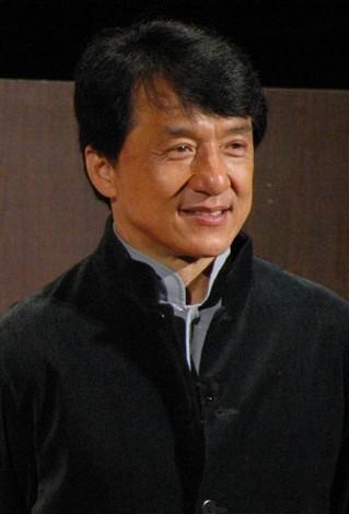 香港から駆け付けた観光大使のジャッキー・チェン