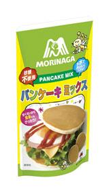 24日(火)より森永製菓が発売する食事系ミックス粉『パンケーキミックス』