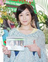 DVD『月刊 加護亜依』の発売記念イベントを行った加護亜依