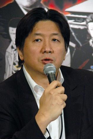 映画『クローズZERO II』とのコラボレーションイベント開催を発表する前田日明氏