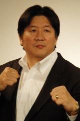 『クローズZERO II』とのコラボイベント会見に出席した前田日明氏
