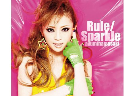 浜崎あゆみ46枚目のシングル「Rule/Sparkle」ジャケット写真