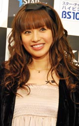 スター・チャンネルpresents「XIII サーティーン」特別試写会にゲストとして登場した優木まおみ