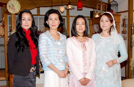 (左から)国生さゆり、清水美沙、桜井幸子、松坂慶子