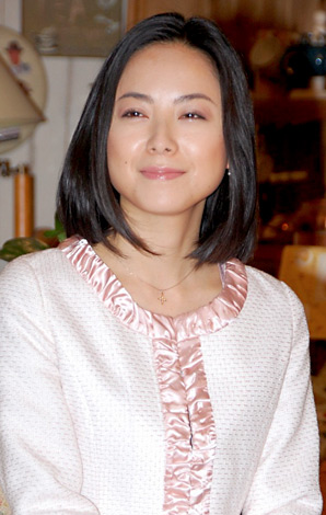 NHKドラマ「コンカツ・リカツ」取材会に出席した桜井幸子