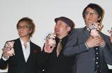舞台挨拶の様子((左から)三池監督、ケンドーコバヤシ、生瀬勝久