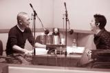 TOKYO FM『松本人志の放送室』収録の模様(左から松本人志、高須光聖)