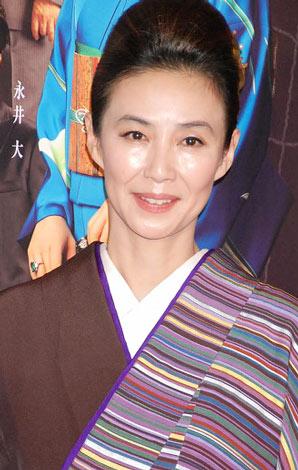 明治座5月公演 舞台「黒革の手帖」製作発表会見に出席した萬田久子