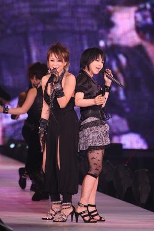 TGCでコラボ曲を披露した倖田來未×misono