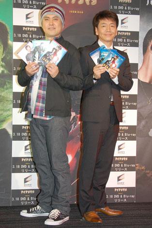 3タイトルDVD&BD発売記念イベントに出席したくりぃむしちゅー