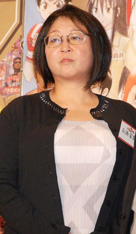 『創刊50周年大同窓会〜共に競って 共に歩んで100年へ〜』に出席した高橋留美子