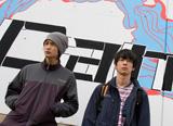 兄弟役を演じる加瀬亮と岡田将生(C)2009「重力ピエロ」製作委員会