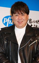 『バイアグラ』発売10周年記念記者発表会に出席した嶋大輔