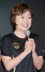 増田明美(『アディダス ランニング共和国』1周年記念祭にて)