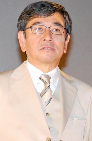 映画『板尾創路の脱獄王』の舞台挨拶に登壇した石坂浩二