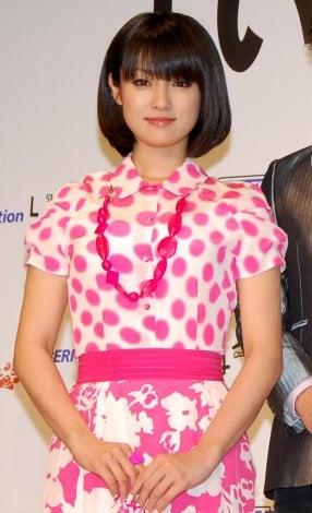 深田恭子(DS用ソフト『いぬ会社』記者発表イベントにて)
