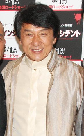 映画『新宿インシデント』ジャパンプレミアに登場したジャッキー・チェン