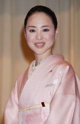 実写映画『火垂るの墓』完成披露試写に出席した松田聖子