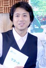 映画『クヌート』のアフレコ収録に臨んだ藤井フミヤ