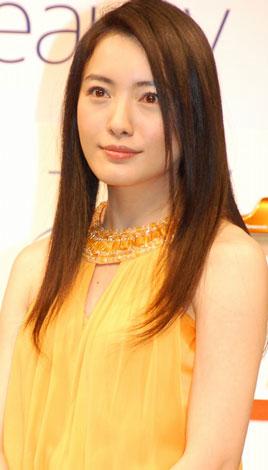 サムネイル 「Panasonic Beauty」新CM発表会に出席した仲間由紀恵